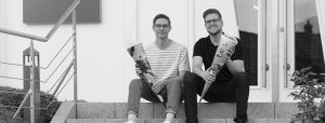 OPUS Marketing / Blog / neue Azubis / Jonas Wunderlich / Markus Baldauf / Teaser