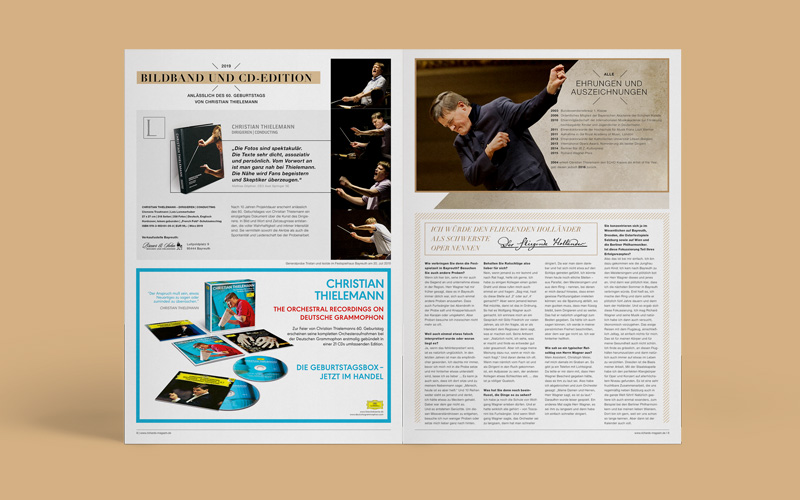 OPUS Marketing / Blog / Richard's Magazin / Tannhäuser / Interview mit Christian Thielemann