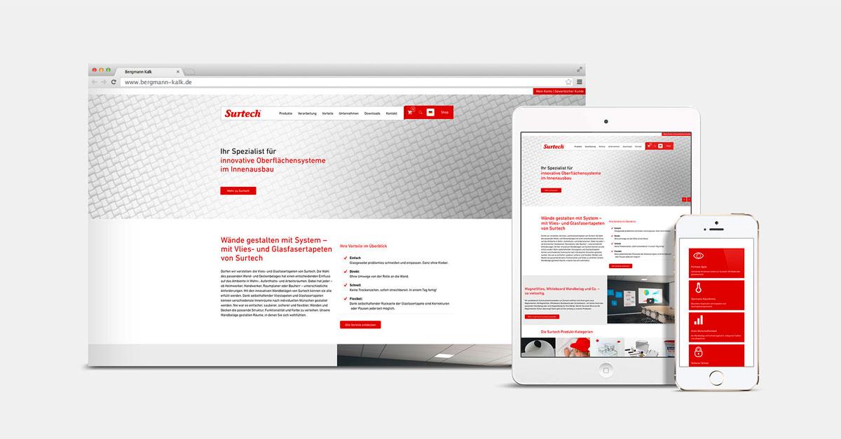 OPUS Marketing / Blog / Webshop für Surtech mit Website kombiniert / Teaser