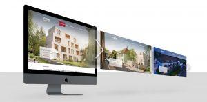 OPUS Marketing / Projekte / Immobilienmarketing / Bauwerke – Liebe & Partner / Website / Slider