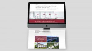 OPUS Marketing / Projekte / Immobilienmarketing / Bauwerke – Liebe & Partner / Website / Metropolregion Nürnberg