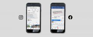 OPUS Marketing / Projekte / Immobilienmarketing / Bauwerke – Liebe & Partner / Social Media / facebook / instagram