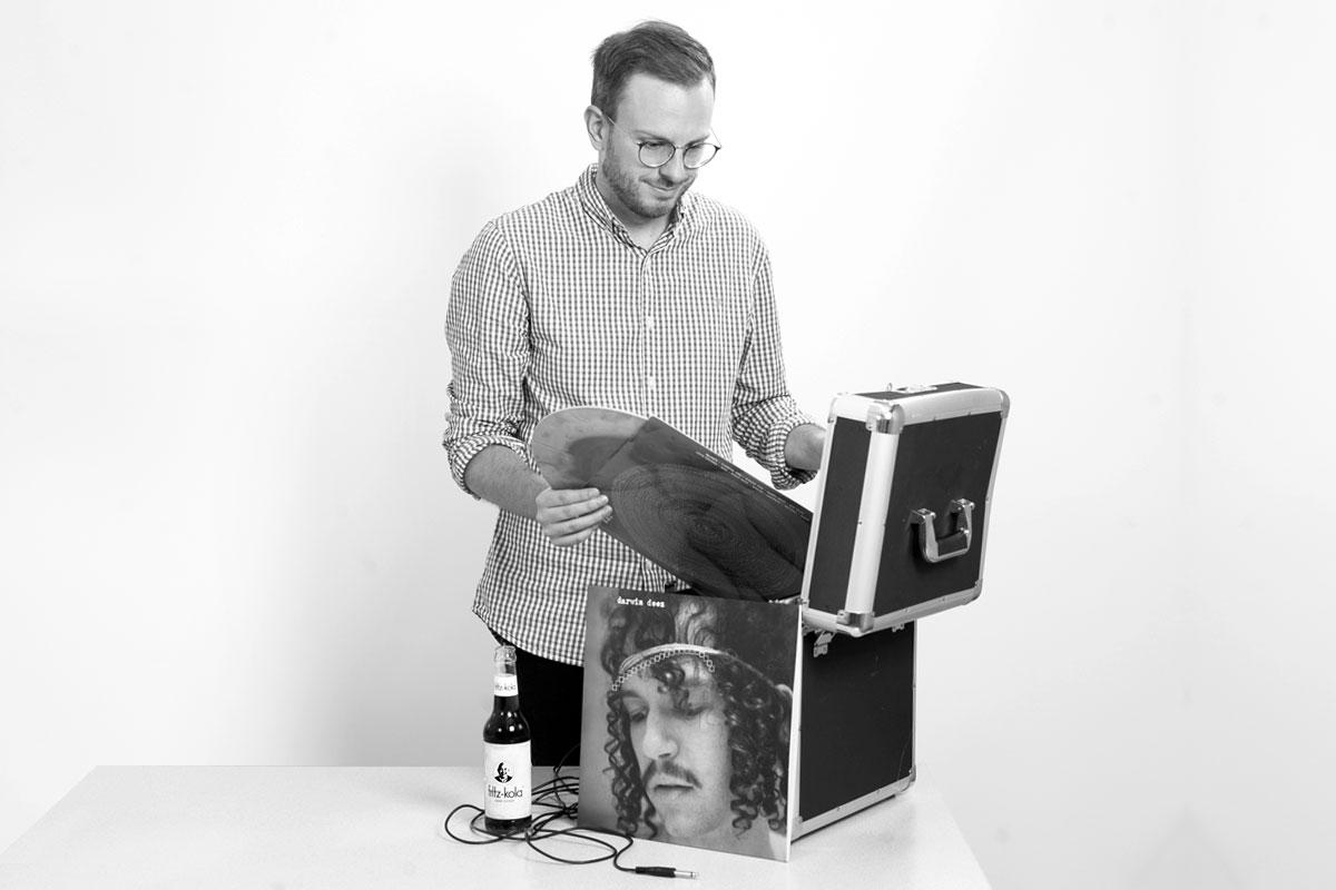 OPUS Marketing / Blog / Mitarbeitervorstellung / Philipp Weidinger / Schallplatten und Vinyl