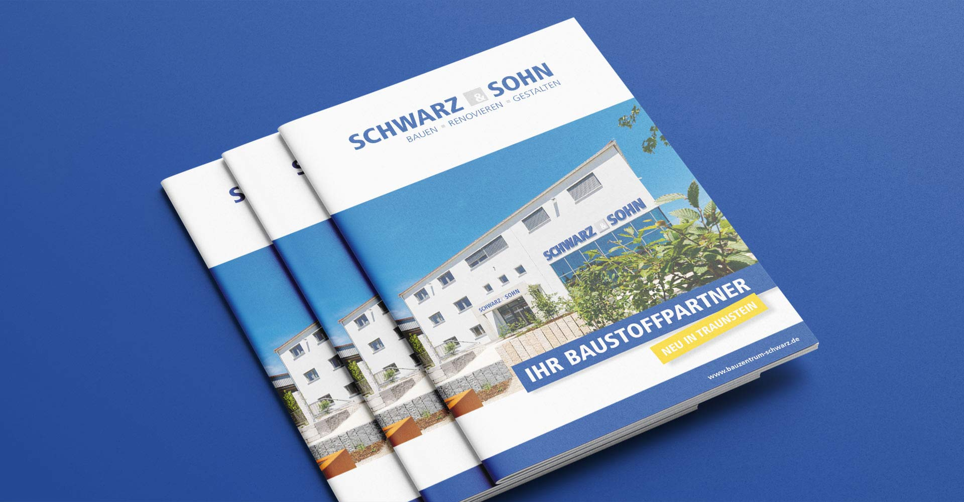 OPUS Marketing / Projekt / Schwarz und Sohn / Kampagne Broschüre