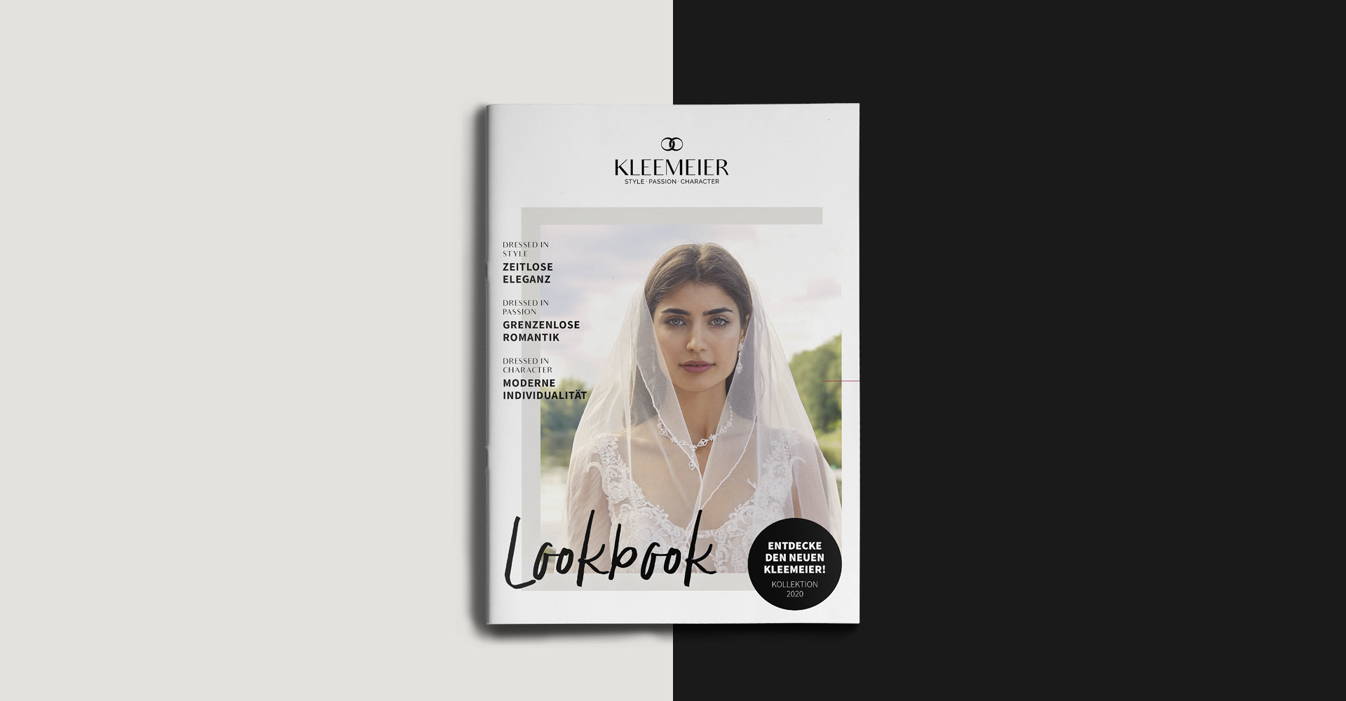 OPUS Marketing / Projekt / KLEEMEIER / Lookbook / Cover