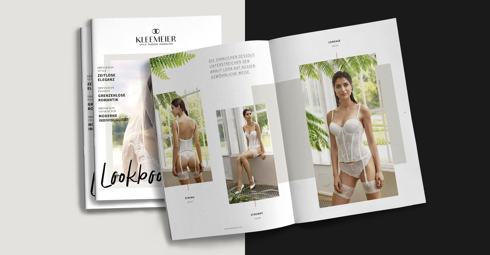 OPUS Marketing / Projekt / KLEEMEIER / Lookbook / Dessous