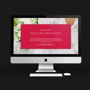 OPUS Marketing / Projekt / KLEEMEIER / showyourdress / Website
