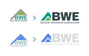OPUS Marketing / Projekt / BWE Bauen Wohnen Einkaufen / Logo / Redesign