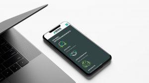 OPUS Marketing / Projekt / BWE Bauen Wohnen Einkaufen / Website mobile