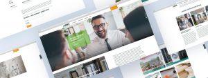 OPUS Marketing / Projekt / BWE Bauen Wohnen Einkaufen / Website / Übersicht