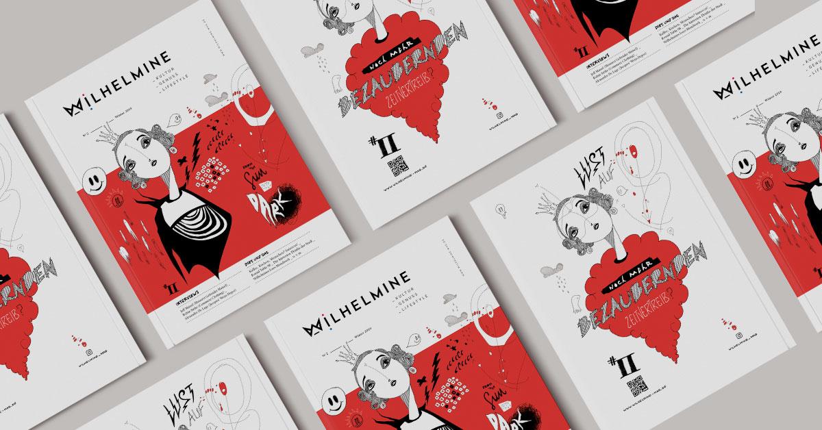 OPUS Marketing / Blog / Wilhelmine Magazin № 2 / Stadtmagazin / Cover / Bayreuth