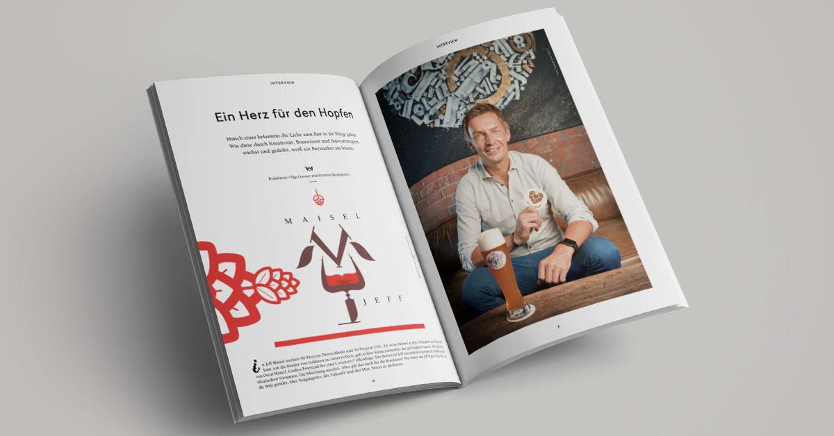 OPUS Marketing / Blog / Wilhelmine Magazin № 2 / Stadtmagazin / Jeff Maisel / Bayreuth