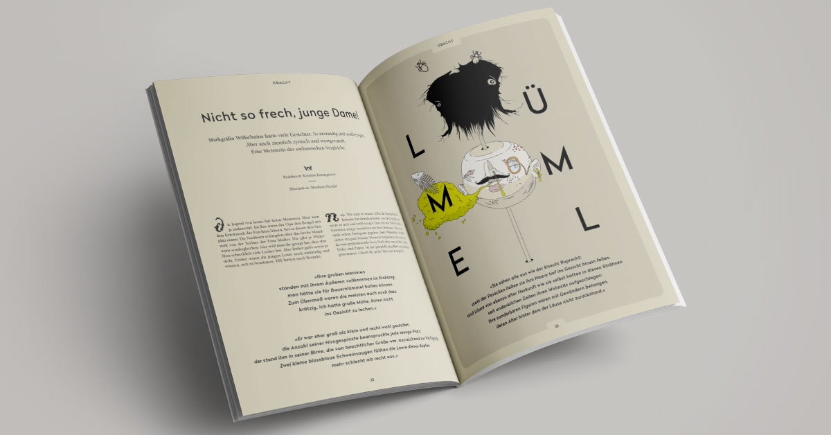 OPUS Marketing / Blog / Wilhelmine Magazin № 2 / Stadtmagazin / Lümmel / Bayreuth