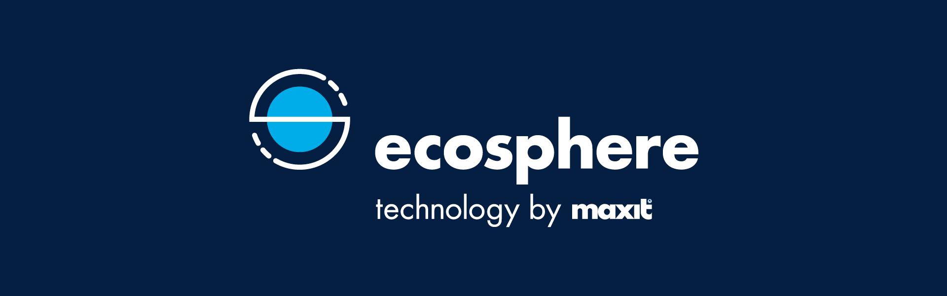 maxit ecosphere / Logo Negativ