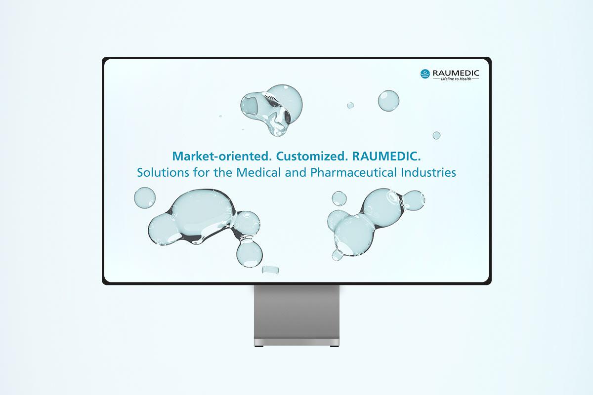 OPUS Marketing / RAUMEDIC Landingpages / Video