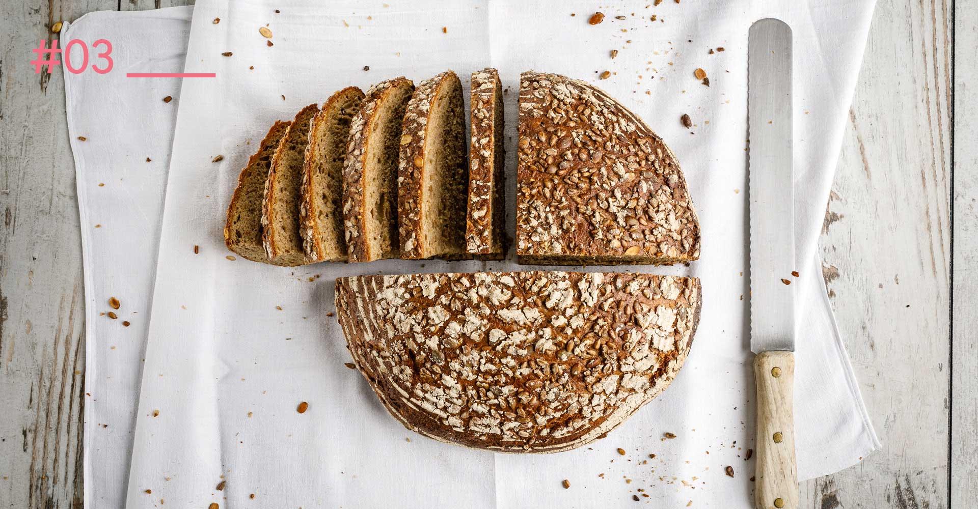OPUS Marketing / Food & Beverage / Brot / Food-Fotografie