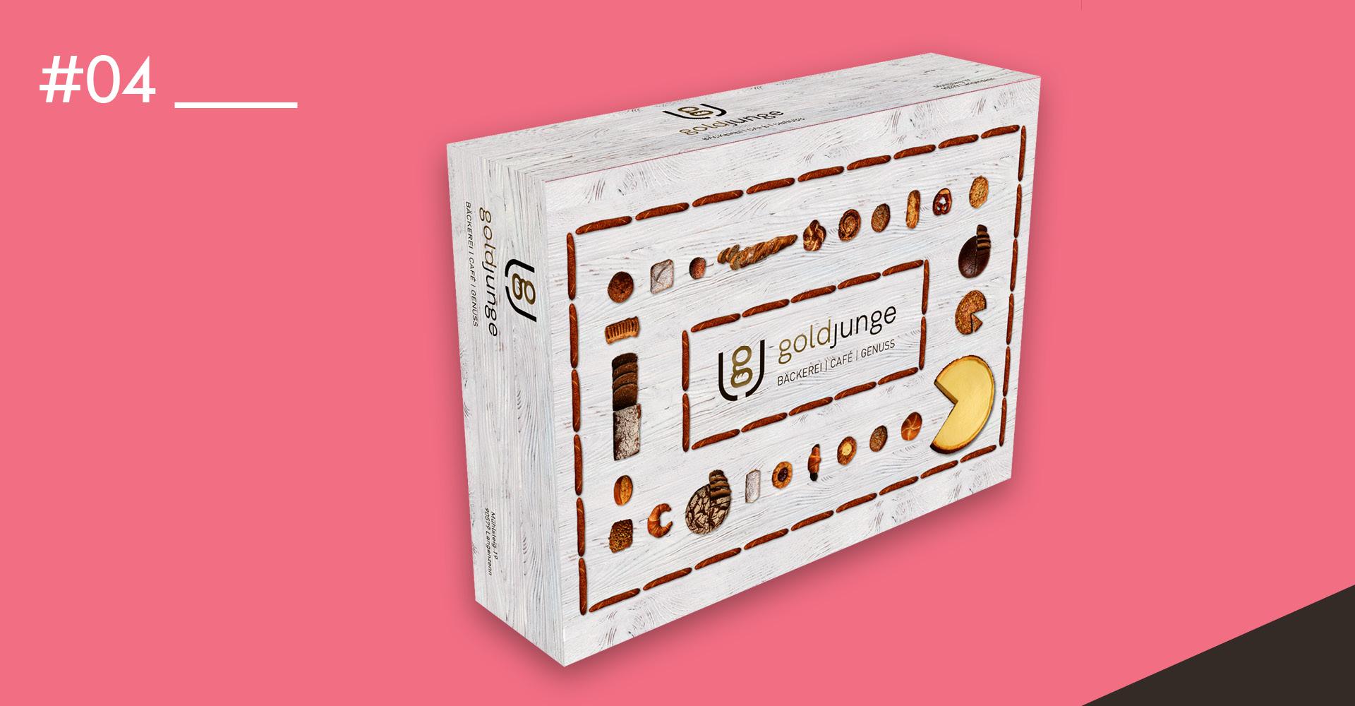 OPUS Marketing / Food & Beverage / Packaging Krapfenbox