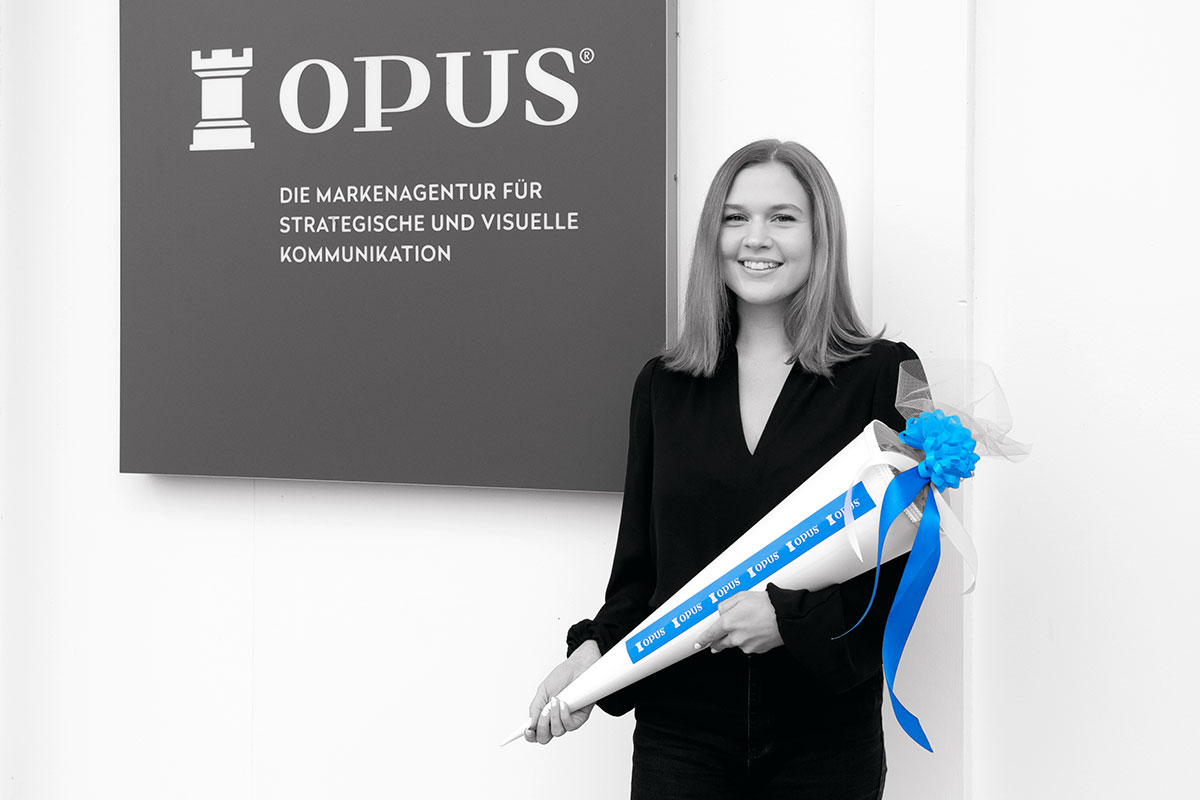 OPUS Marketing / Ausbildungsstart zur Kauffrau für Marketingkommunikation