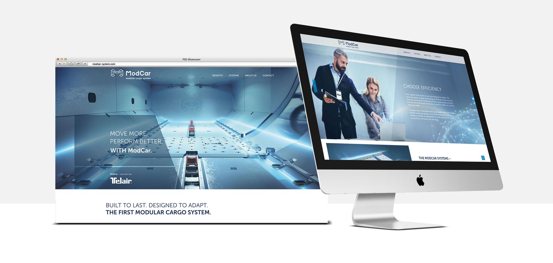 ModCar / Website / Desktop