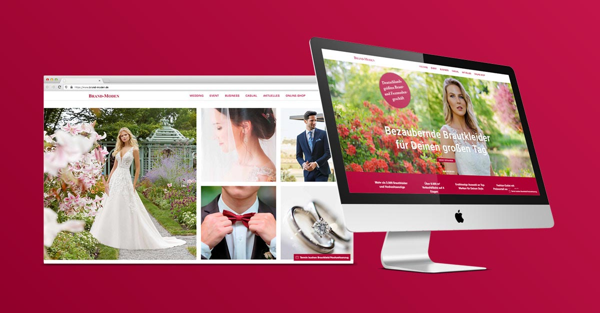 OPUS Marketing / Blog / Neue Website Brand Moden Leidersbach