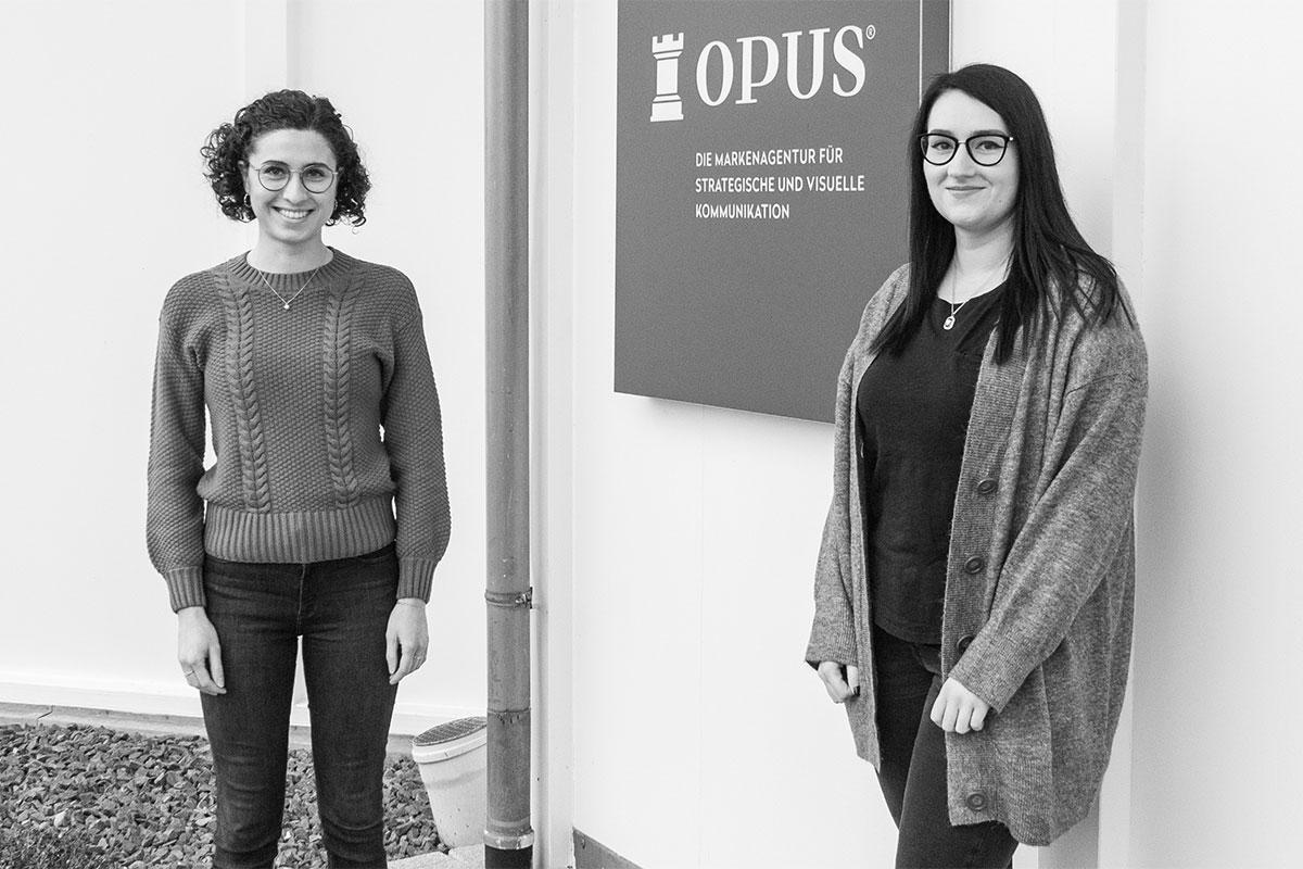 OPUS Marketing / Blog / Katharina und Claudia neu im Turm