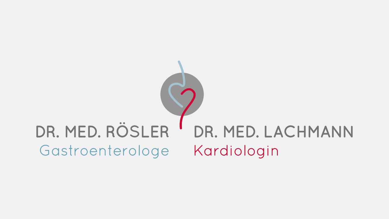 Praxismarketing / Logo Arztpraxis Dres. Rösler und Lachmann / Markenaufbau / OPUS Marketing