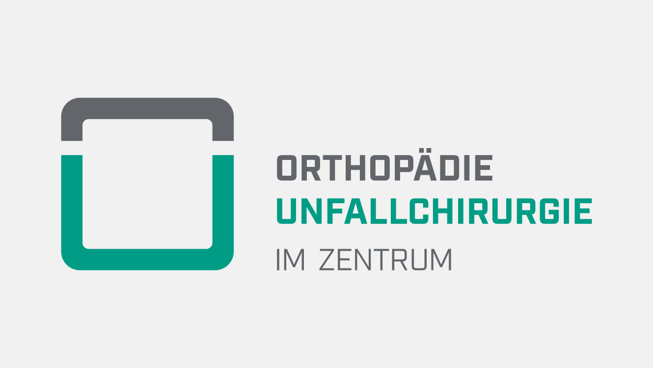 Praxismarketing / Logo Orthopädie Unfallchirurgie / Markenaufbau / OPUS Marketing