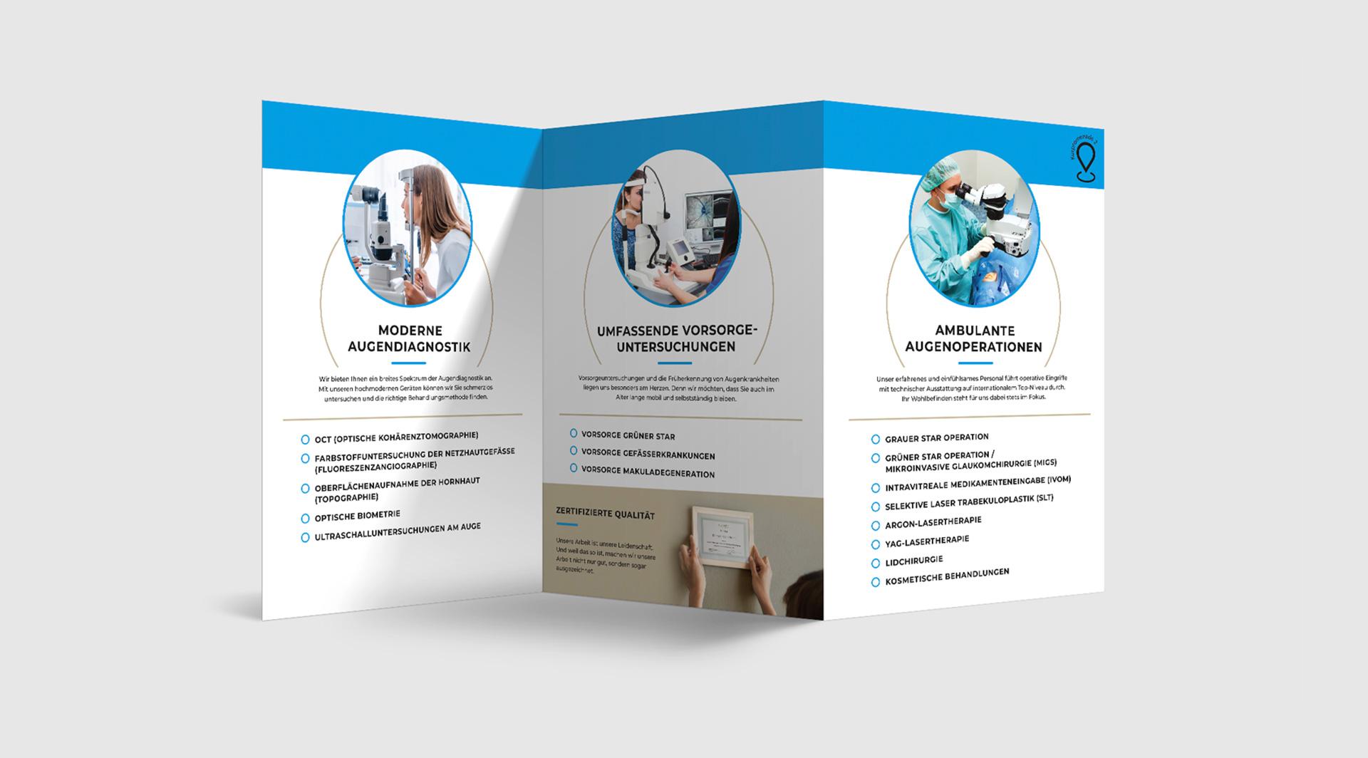 OPUS Marketing / AugenCentrum Bayreuth / Geschäftsausstattung