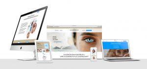 OPUS Marketing / AugenCentrum Bayreuth / responsive Website