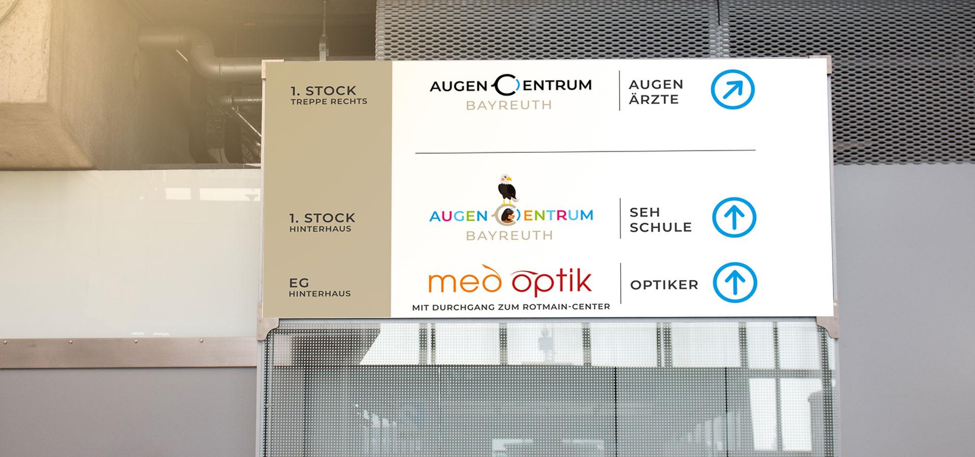 OPUS Marketing / AugenCentrum Bayreuth / Standortausstattung