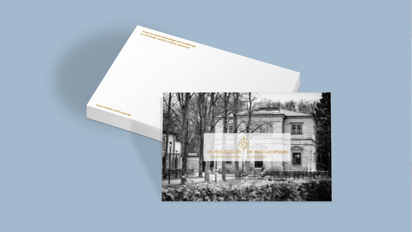 OPUS Marketing / Dr. Rösler und Dr. Lachmann / Compliment Card