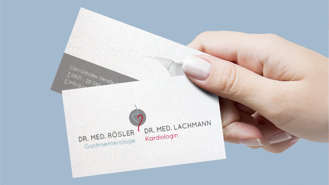 OPUS Marketing / Dr. Rösler und Dr. Lachmann / Visitenkarte