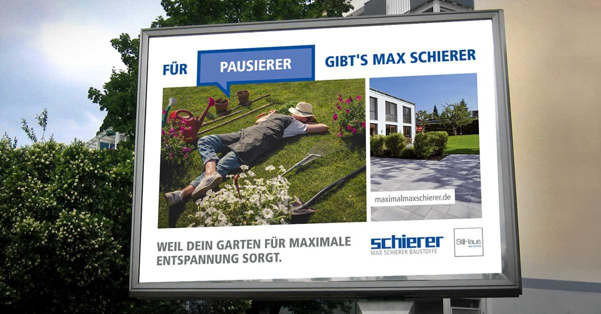 OPUS Marketing / Blog / Frühlingskampagne Schierer Plakat