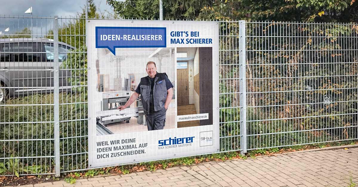 OPUS Marketing / Blog / Frühlingskampagne Schierer Banner