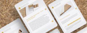 OPUS Marketing / Blog / Website für Naturbaustoffe Huppenberger