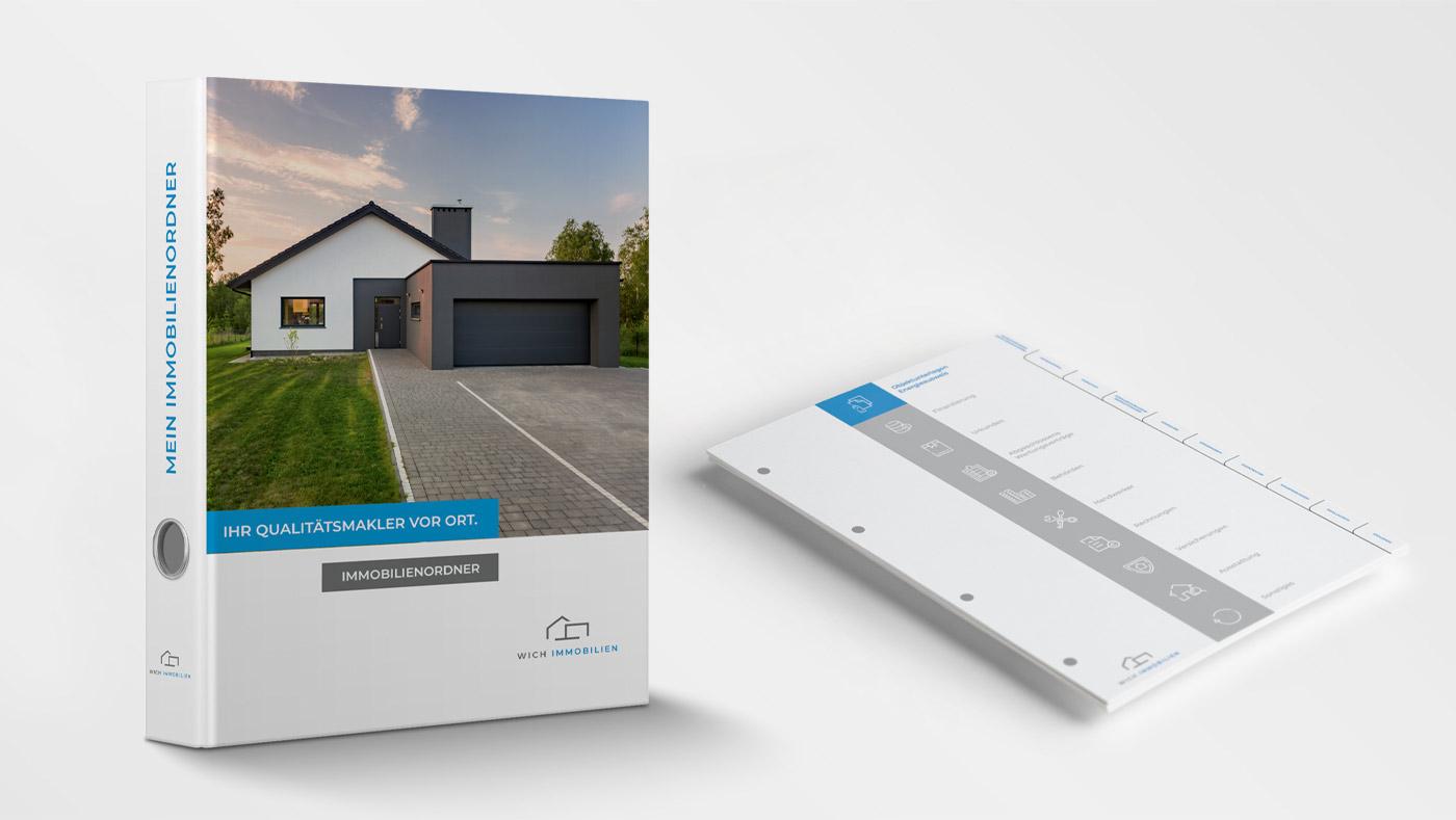 OPUS Marketing / Wich Immobilien / Beschilderung Giveaways