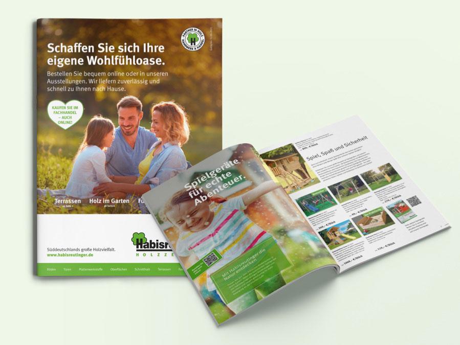 Die Frühlingsbeilage 2021 konzipierte OPUS Marketing für Habisreutinger.