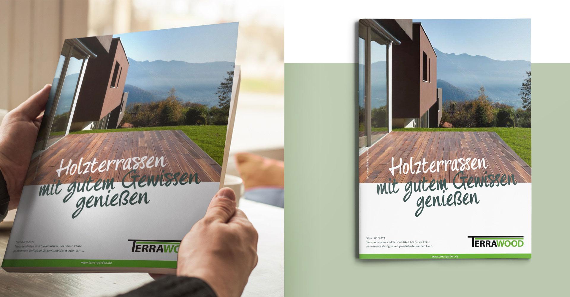 Terrawood-Kataloge für Habisreutinger von OPUS Marketing