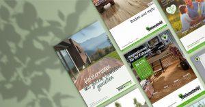 Von OPUS Marketing konzipierte Kataloge für Habisreutigner Holzzentrum