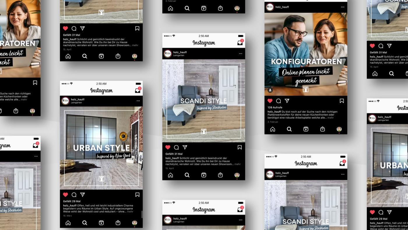 OPUS Marketing / Holz Hauff / Kampagne