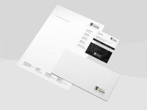 OPUS Marketing / Holz Hauff / Marke Geschäftsausstattung