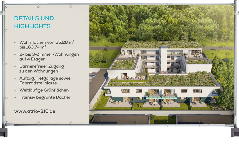 OPUS Marketing / Projekte / Atrio310 Standort