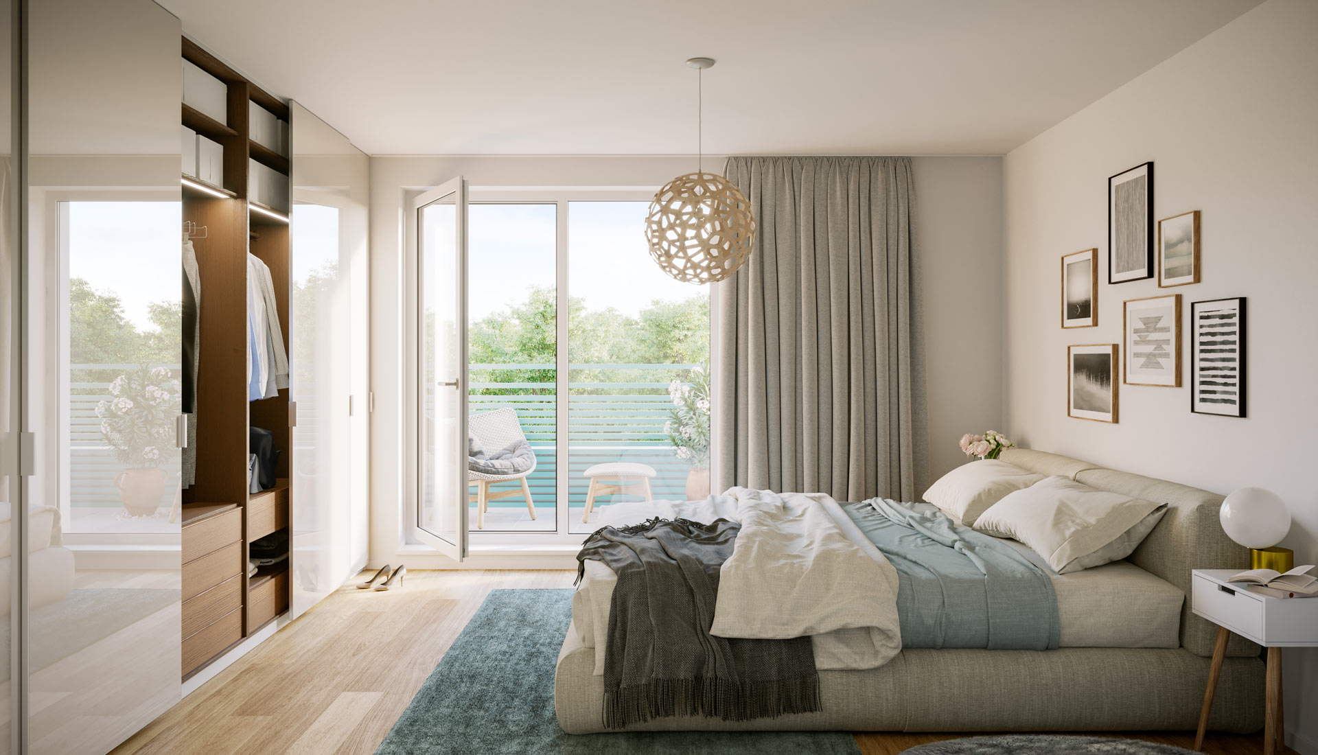 OPUS Marketing / Projekte / Atrio310 Schlafzimmer