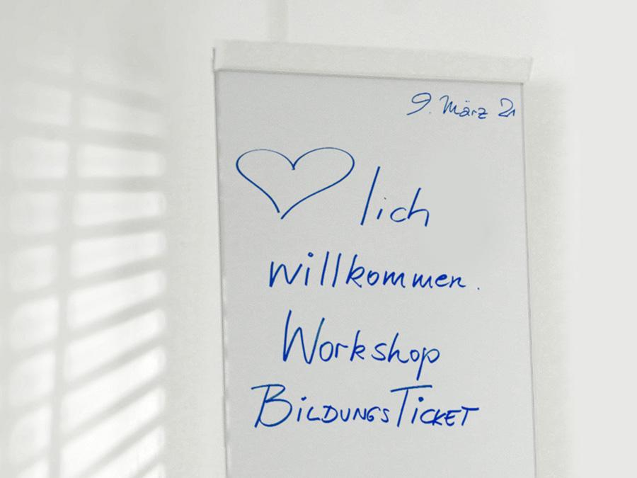 OPUS Marketing / Kundenprojekt / Bildungsticket ÖPNV Sachsen Workshop