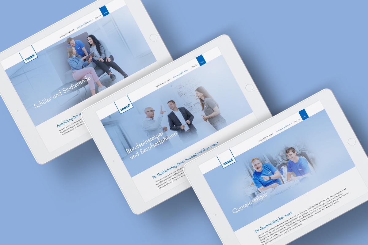 OPUS Marketing / Blog / Karrierewebsite maxit