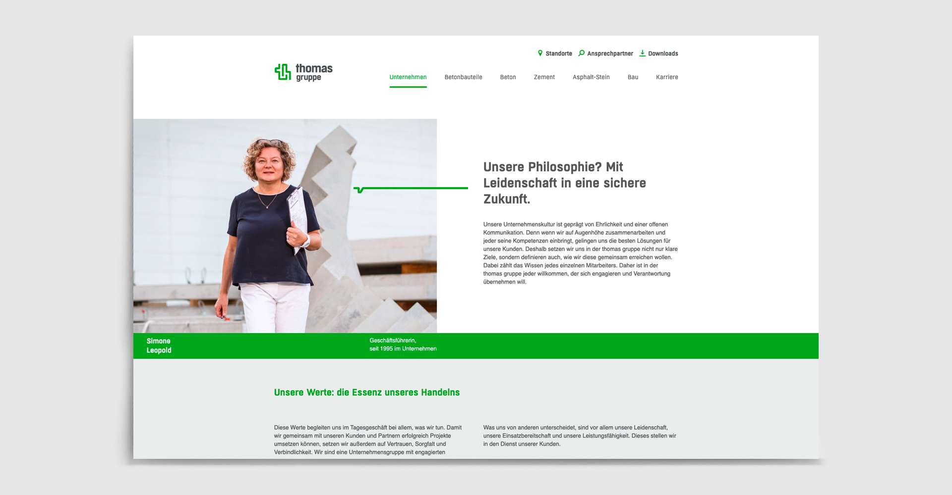 OPUS Marketing / thomas Gruppe / Website