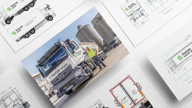 OPUS Marketing / thomas Gruppe / Fahrzeug-Branding