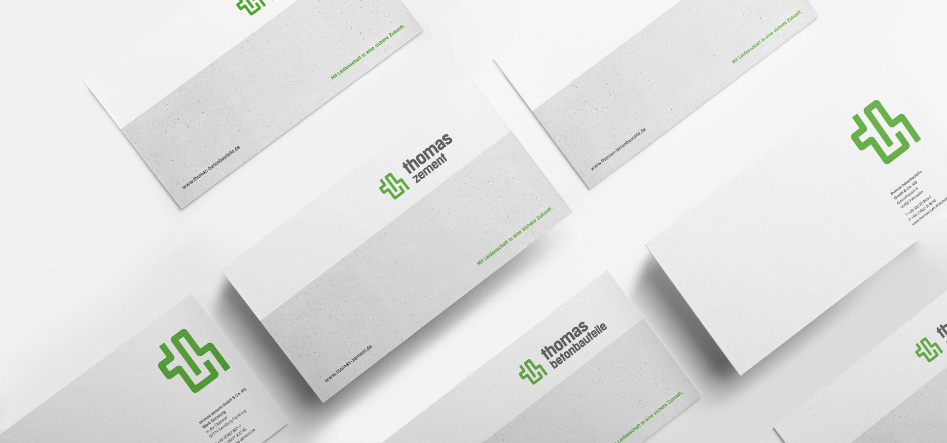 OPUS Marketing / thomas Gruppe / Geschäftsausstattung