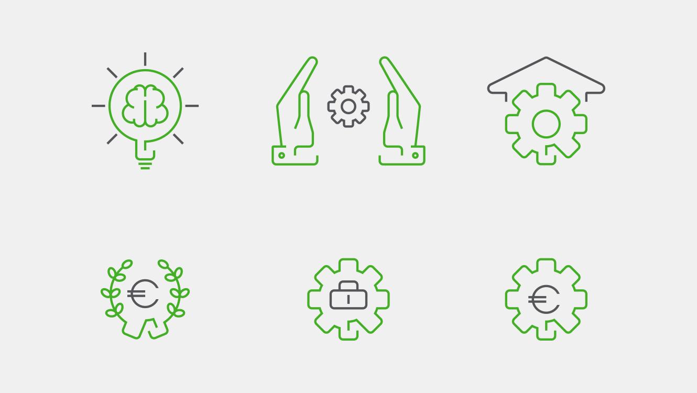 OPUS Marketing / thomas Gruppe / Icons Benefits