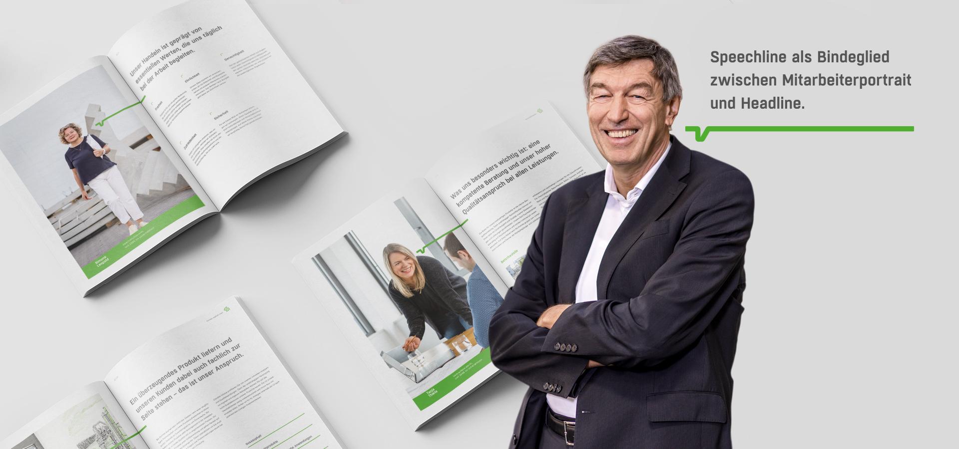 OPUS Marketing / thomas Gruppe / Printbroschüre